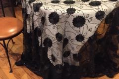 Black Bridal Sheer