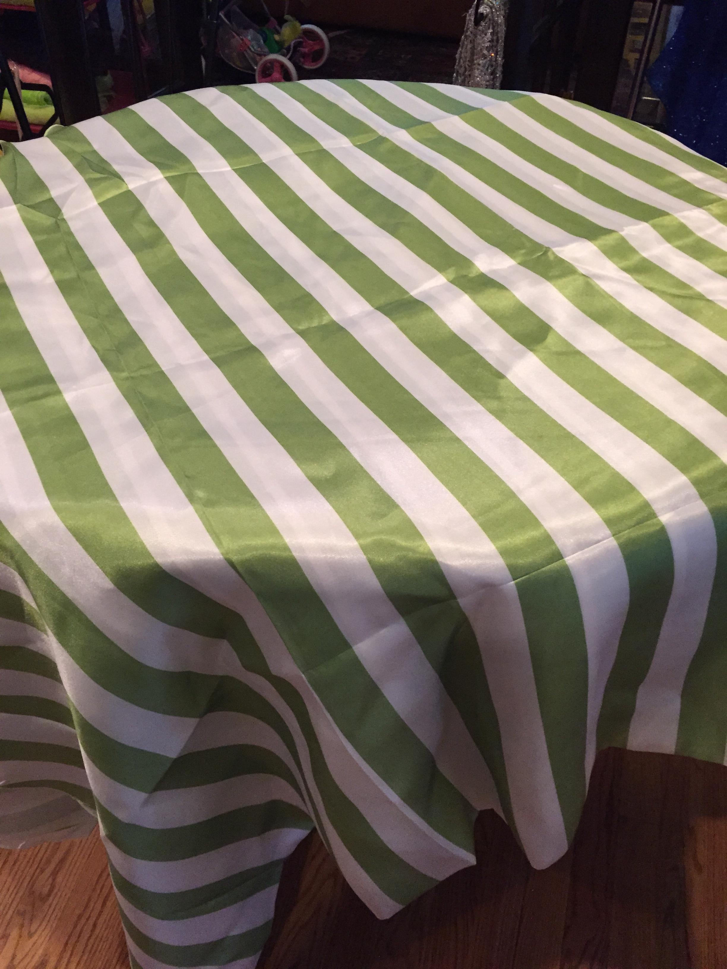 Avocado Green Stripe