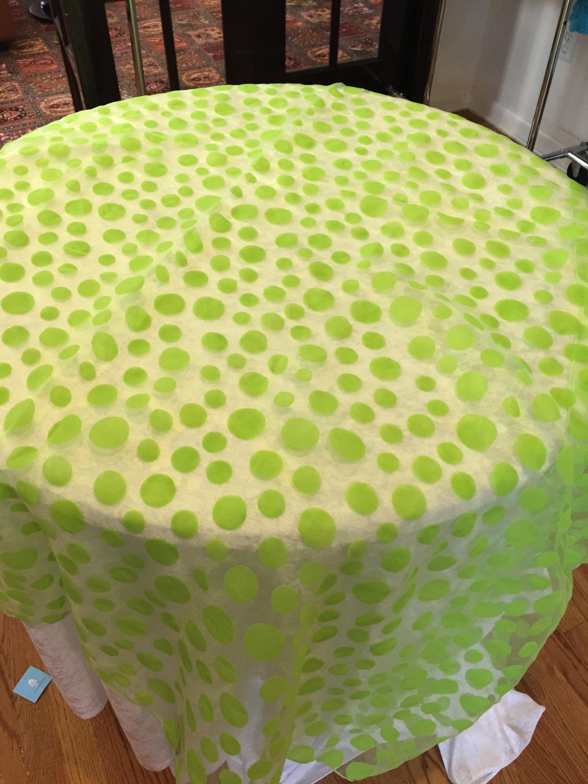 Polka Dot Lime Green-LG