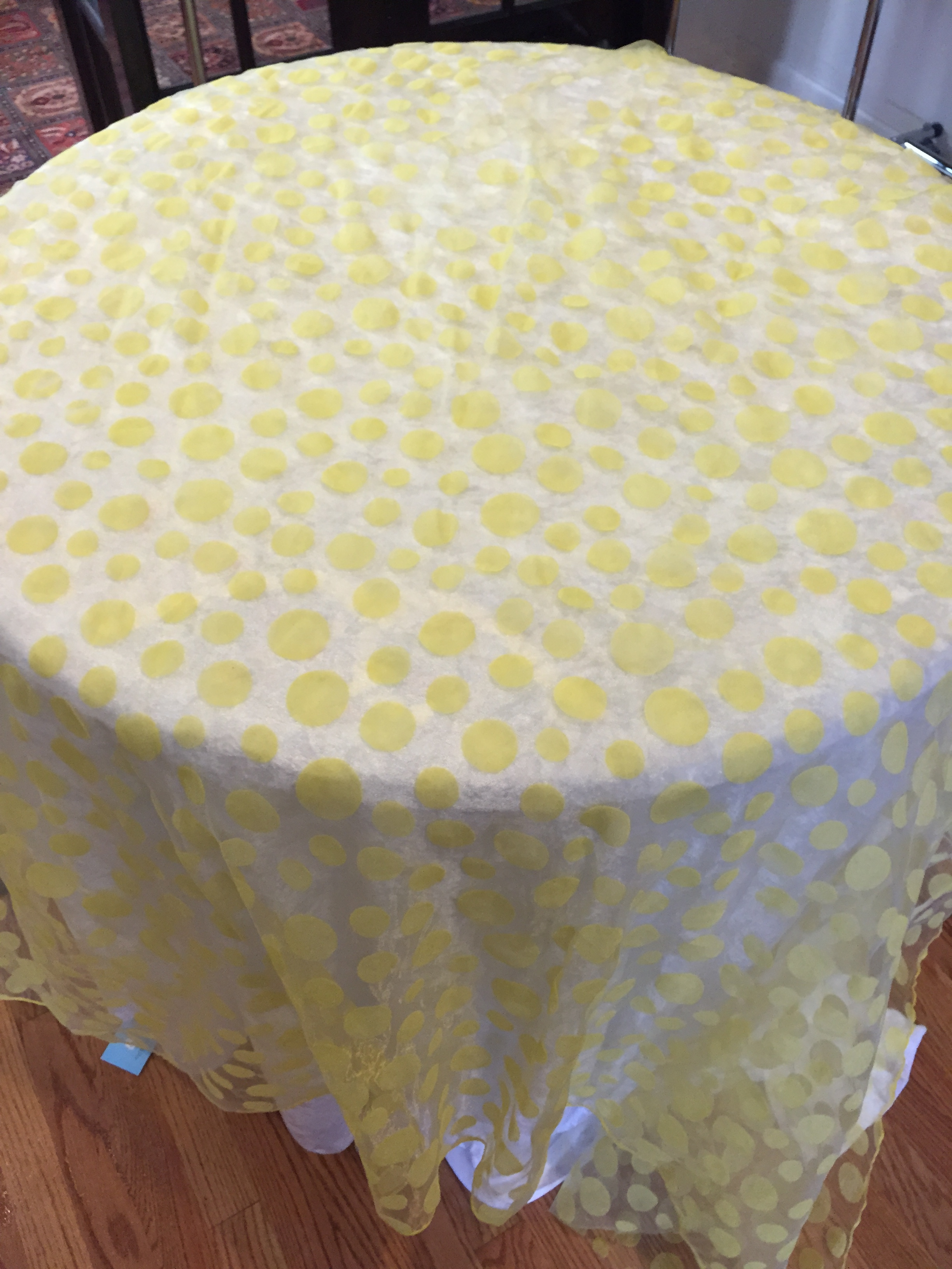Polka Dot Yellow-LG