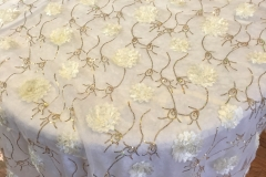 Ivory Bridal Sheer-LG