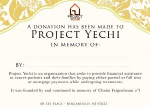 ProjectYechi-Donation-Memory
